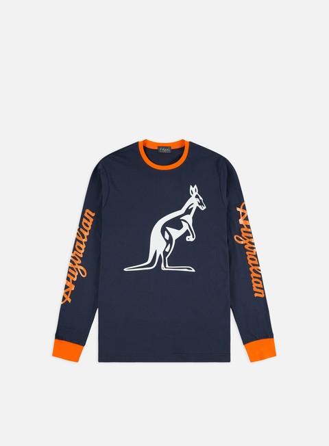 Long Sleeve T-shirts Australian Big Logo LS T-shirt