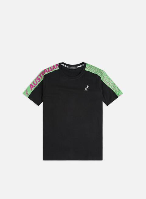 Sale Outlet Short Sleeve T-shirts Australian Cube Logo Banda T-shirt