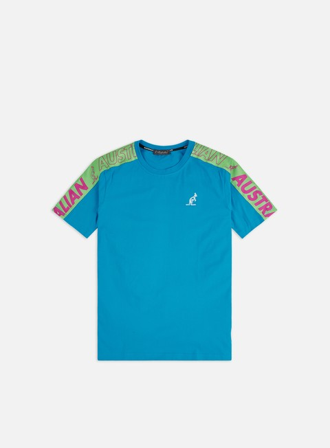 Outlet e Saldi T-shirt a Manica Corta Australian Cube Logo Banda T-shirt