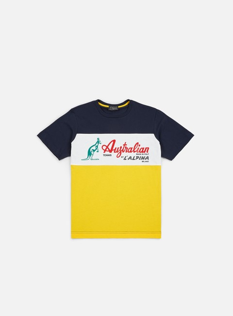 Outlet e Saldi T-shirt a Manica Corta Australian Elio T-shirt