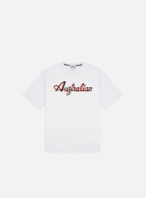 Short Sleeve T-shirts Australian HC Back Tape Logo T-shirt