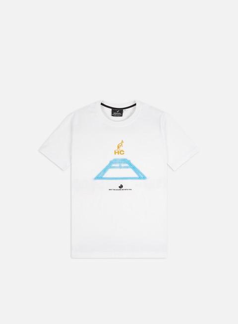 Outlet e Saldi T-shirt a Manica Corta Australian HC Laser Court T-shirt