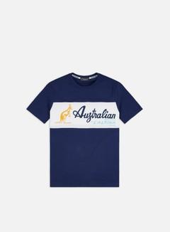 Australian - Heritage Logo T-shirt, Cosmo Blue