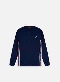 Australian - Logo Banda LS T-shirt, Cosmo Blue