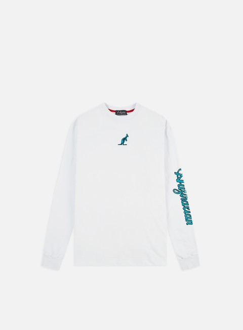 Australian Logo Print LS T-shirt