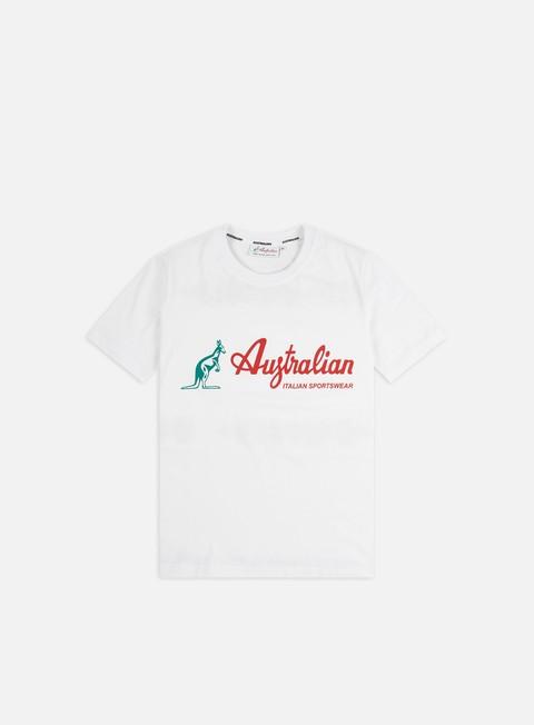 Outlet e Saldi T-shirt a Manica Corta Australian Logo T-shirt
