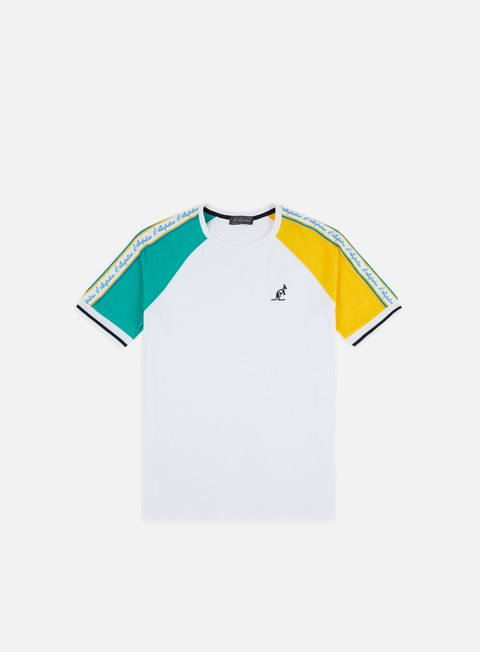 Short Sleeve T-shirts Australian Raglan Banda T-shirt
