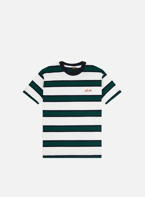 Short Sleeve T-shirts Butter Goods Pine Stripe T-shirt