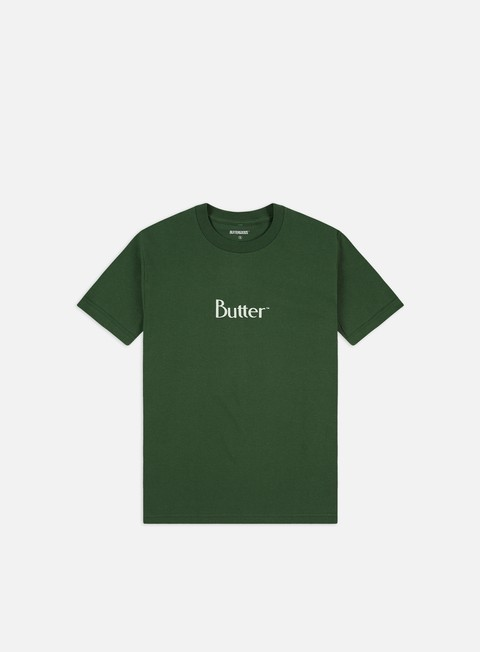 Short Sleeve T-shirts Butter Goods Puff Print Classic Logo T-shirt