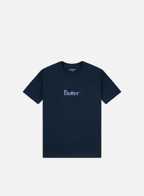 T-shirt a Manica Corta Butter Goods Puff Print Classic Logo T-shirt
