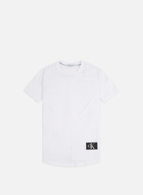 T-shirt a Manica Corta Calvin Klein Jeans Badge Turn Up Sleeve T-shirt