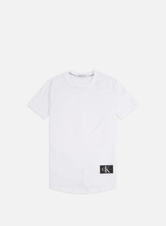 Calvin Klein Jeans Badge Turn Up Sleeve T-shirt