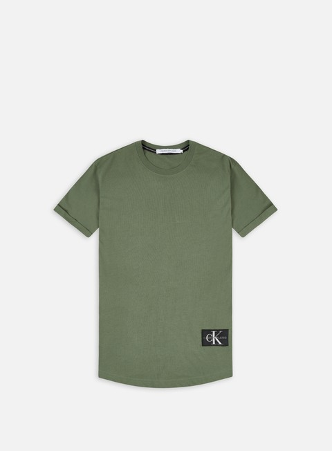 Calvin Klein Jeans Badge Turn Up Sleeve T-shirt