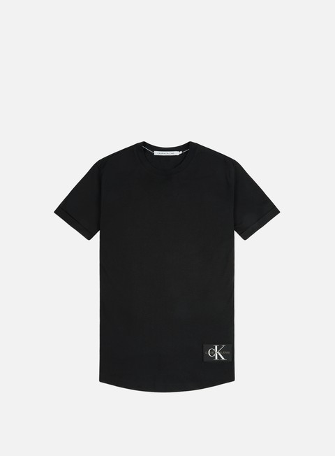 Calvin Klein Jeans Badge Turn Up Sleve T-shirt