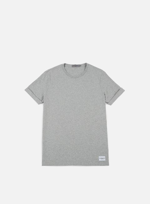 t shirt calvin klein jeans blimos t shirt light grey heather