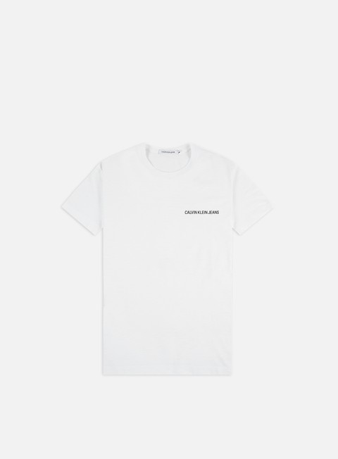 T-shirt Logo Calvin Klein Jeans Chest Institutional Slub Slim T-shirt