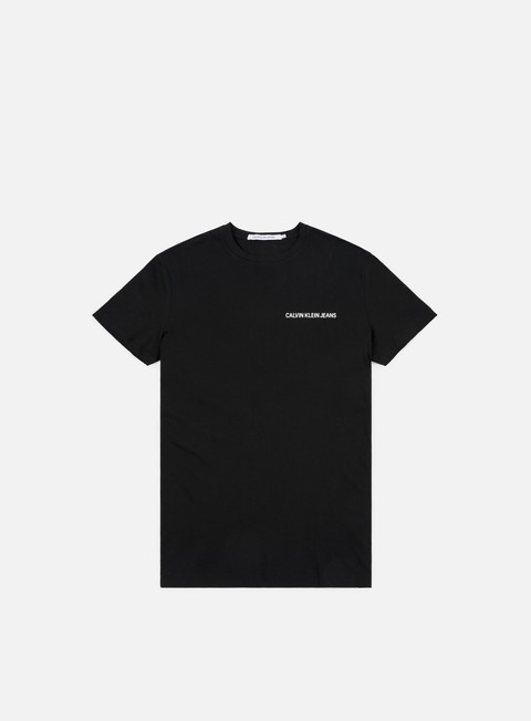 t shirt calvin klein jeans chest institutional t shirt ck black