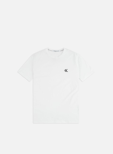 Short Sleeve T-shirts Calvin Klein Jeans Ck Essential Slim T-shirt