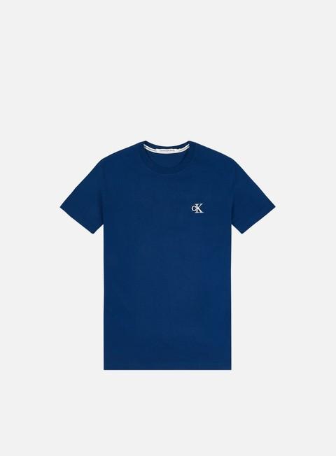 Outlet e Saldi T-shirt a Manica Corta Calvin Klein Jeans Ck Essential Slim T-shirt