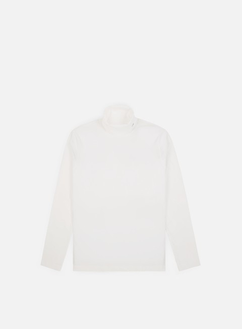 Outlet e Saldi T-shirt a Manica Lunga Calvin Klein Jeans CKJ Neck Embroidery LS T-shirt