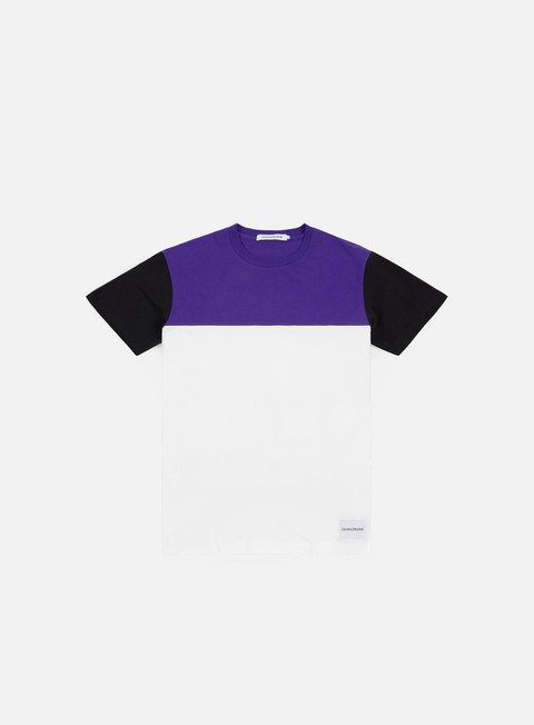 Short Sleeve T-shirts Calvin Klein Jeans Color Blocking Reg Fit T-shirt