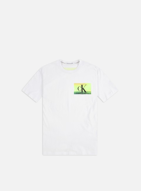 Short Sleeve T-shirts Calvin Klein Jeans Festival Photoprint T-shirt
