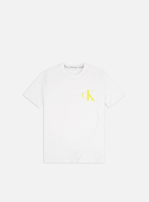 Logo T-shirts Calvin Klein Jeans Institutional Back Pop Logo T-shirt