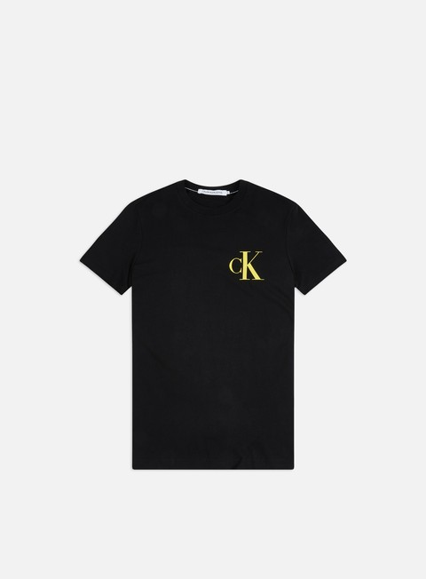 Outlet e Saldi T-shirt a Manica Corta Calvin Klein Jeans Institutional Back Pop Logo T-shirt