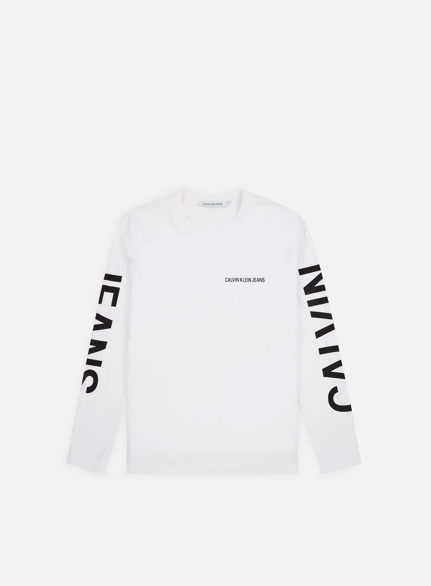 Calvin Klein Jeans Institutional Back Print LS T-shirt