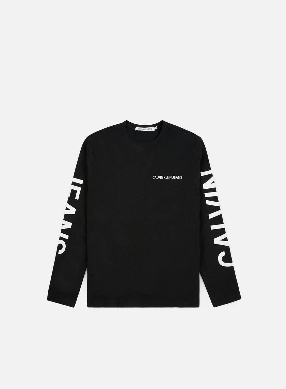 Calvin Klein Jeans Institutional Back Print LS T-shirt