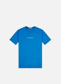 Calvin Klein Jeans - Institutional Chest Logo Regular T-shirt, Coastal Blue