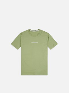 Calvin Klein Jeans - Institutional Chest Logo Regular T-shirt, Earth Sage