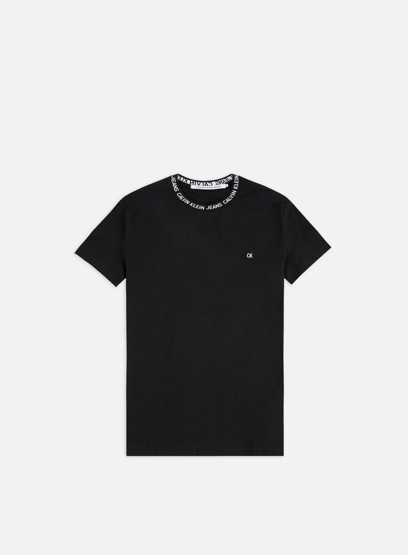 Calvin Klein Jeans Institutional logo Neck Rib T-shirt