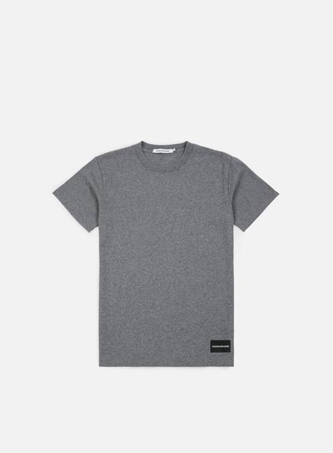 Outlet e Saldi T-shirt a Manica Corta Calvin Klein Jeans Institutional Logo T-shirt