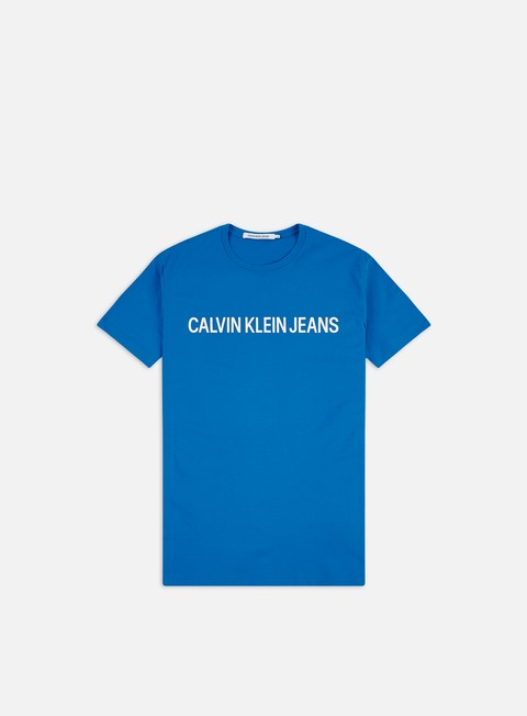 Short Sleeve T-shirts Calvin Klein Jeans Institutional Slim Logo T-shirt