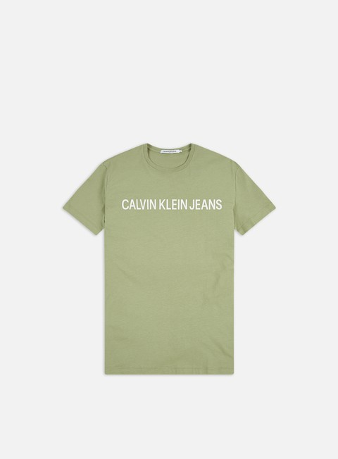 T-shirt a Manica Corta Calvin Klein Jeans Institutional Slim Logo T-shirt