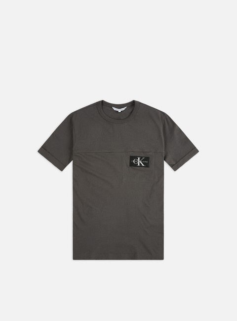 Pocket T-shirts Calvin Klein Jeans Monogram Badge Pocket T-shirt