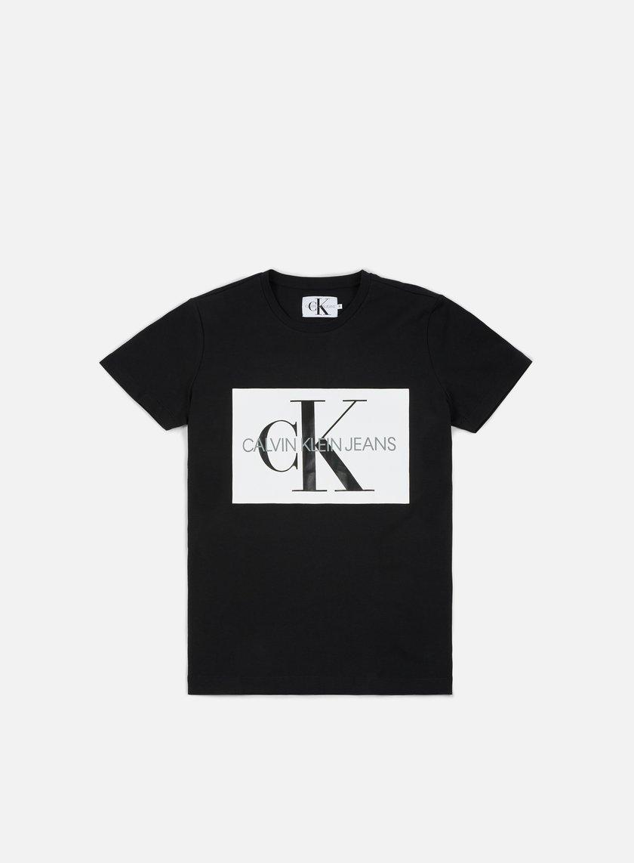 615b37dd3a0775 CALVIN KLEIN JEANS Monogram Box Logo T-shirt € 25 Short Sleeve T ...