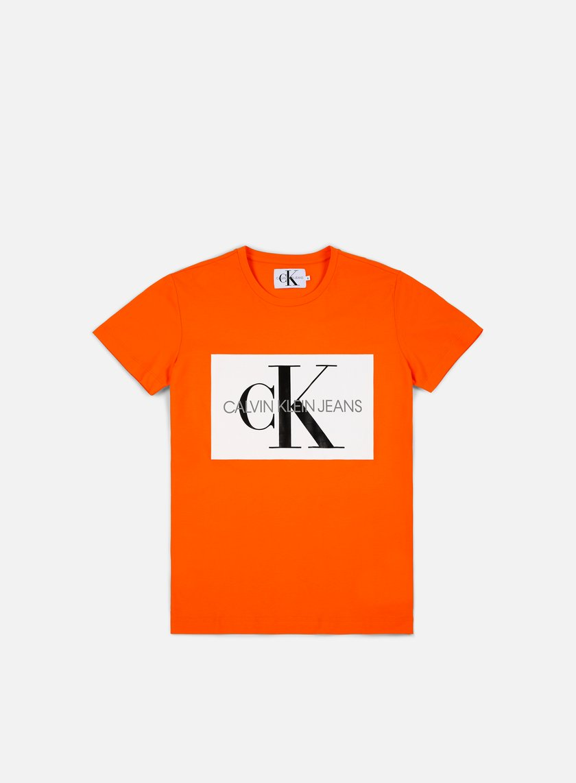 f5a33078 CALVIN KLEIN JEANS Monogram Box Logo T-shirt € 25 Short Sleeve T ...