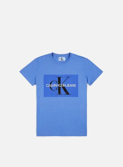 t shirt calvin klein jeans monogram box logo t shirt regatta
