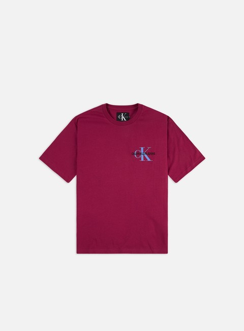 T-shirt Logo Calvin Klein Jeans Monogram Chest Embroidery Regular T-shirt