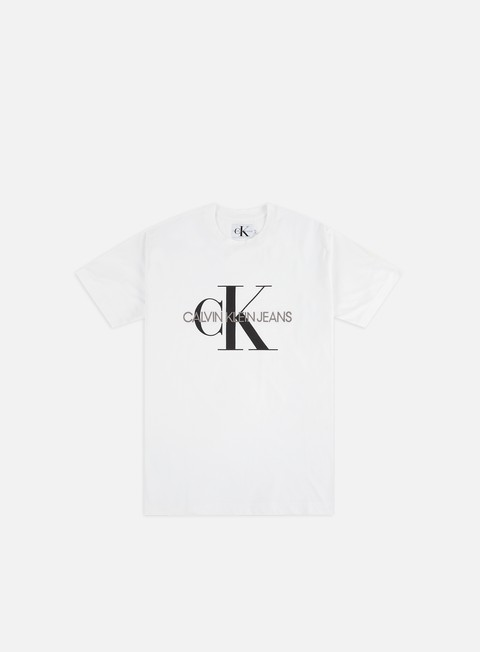 Short Sleeve T-shirts Calvin Klein Jeans Monogram Embro T-shirt