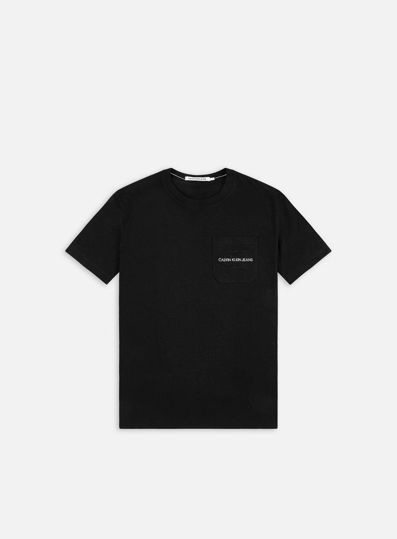 Calvin Klein Jeans Monogram Embroidery Pocket T-shirt