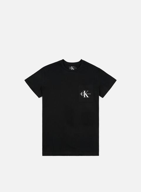 Short Sleeve T-shirts Calvin Klein Jeans Monogram Pocket T-shirt