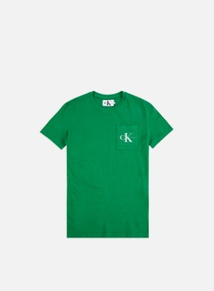 Calvin Klein Jeans - Monogram Pocket T-shirt, Jolly Green