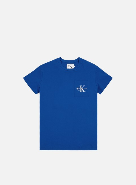 Outlet e Saldi T-shirt a Manica Corta Calvin Klein Jeans Monogram Pocket T-shirt