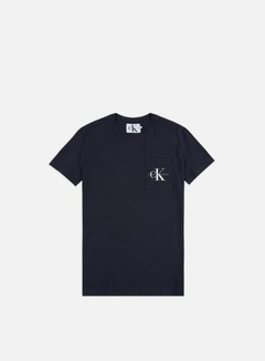 Calvin Klein Jeans - Monogram Pocket T-shirt, Night Sky