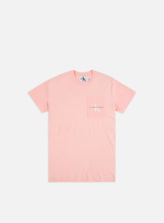 Calvin Klein Jeans - Monogram Pocket T-shirt, Strawberry Cream