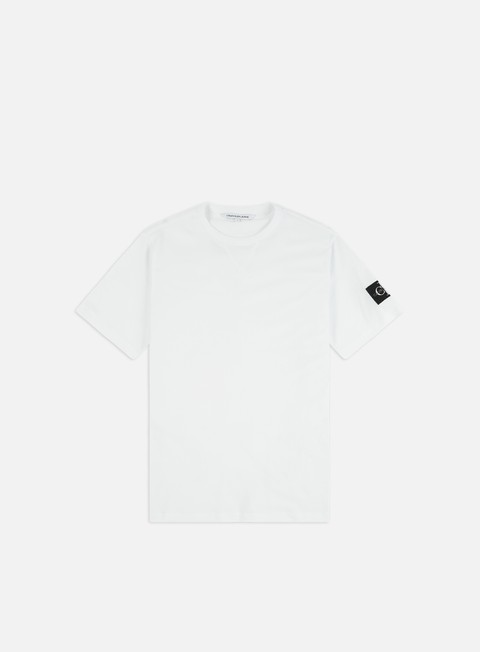 Short Sleeve T-shirts Calvin Klein Jeans Monogram Sleeve Badge T-shirt