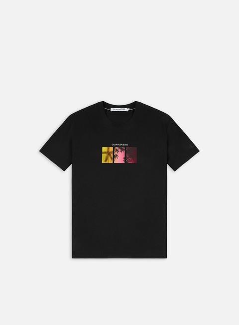T-shirt a Manica Corta Calvin Klein Jeans Multi Palm Print T-shirt